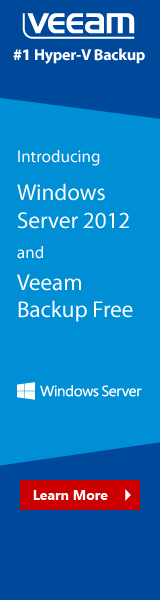 Veeam Windows Server 2012 Free Backup