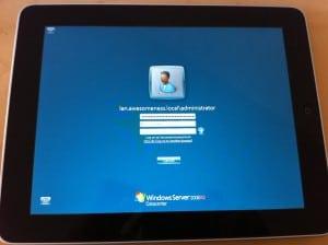 iPad iTap RDP