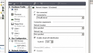 Hyper-V SCVMM Virtual Machine Properties