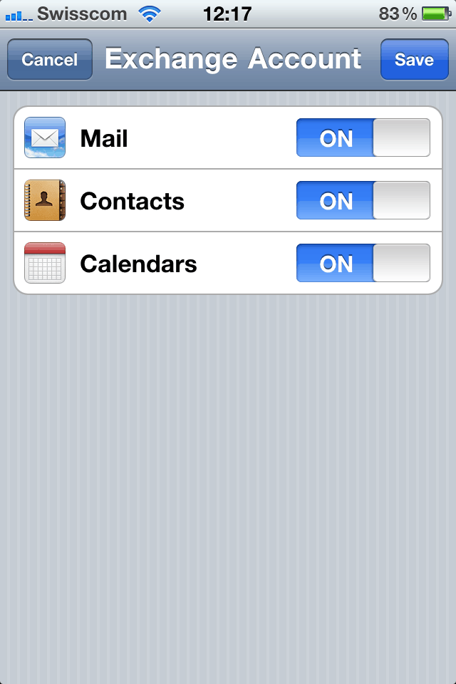 Use Hotmail as a Exchange Account on your iPhone - Thomas Maurer