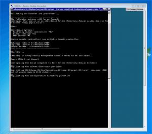 Windows Server 2008 R2 Core DCPROMO