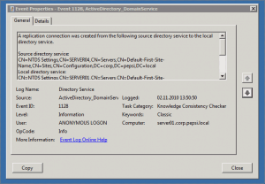 Windows Server 2008 R2 AD Replication
