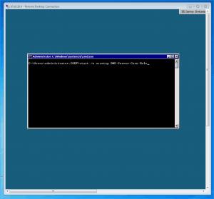 Windows Server 2008 R2 Core DNS Server