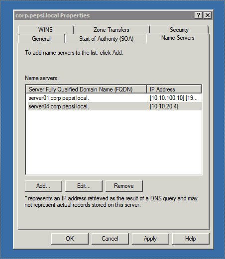 How to add a Windows Server 2008 R2 Core as Secondary DNS Server