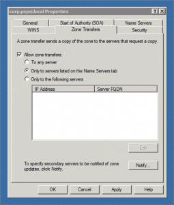 Windows Server 2008 R2 DNS Server