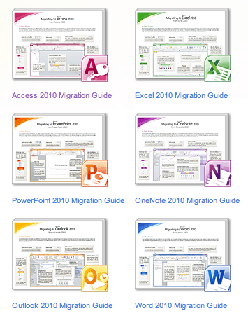 Office 2010 Migration Guides