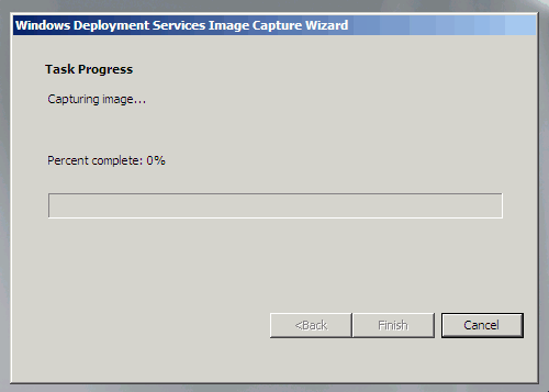 Create an OS Image in Windows Deployment Services (Capture