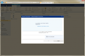 Sharepoint 2010 Document Library