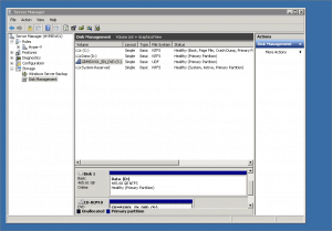 Disk Management Windows Server 2008 R2