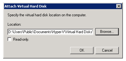 Howto Attach / Detach VHD in Windows Server 2008 R2 - Thomas