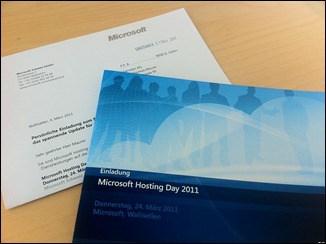 Microsoft Hosting Day 2011