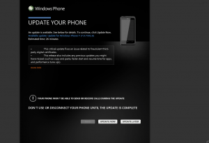 Zune Windows Phone 7 Update