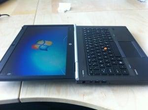HP Elitebook 8460w Display