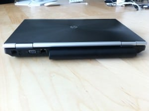HP Elitebook 8460w back
