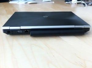 HP Elitebook 8460w back