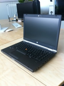 HP Elitebook 8460w Display