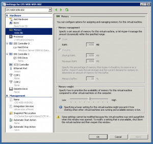 Dynamic Memory Windows Server 2008 R2 SP1
