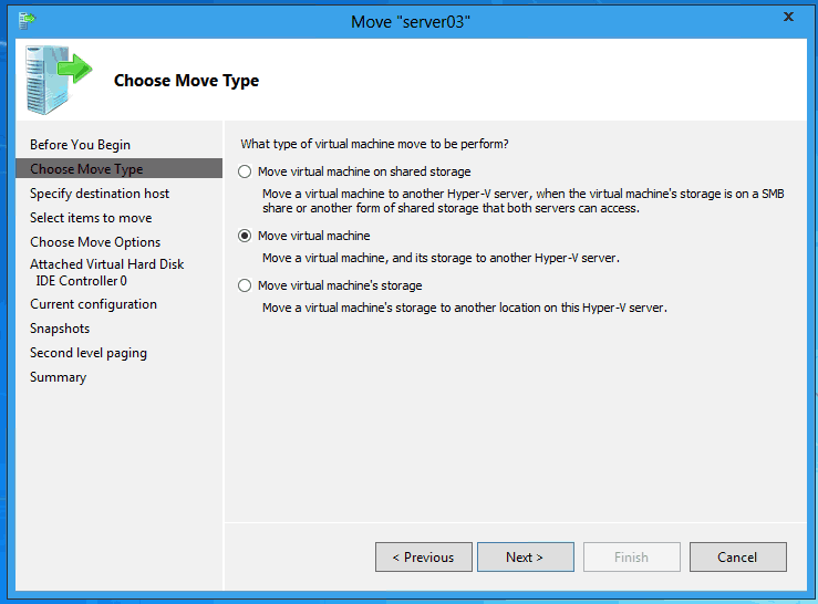 Windows Server 8 Hyper V Virtual Machine Replication