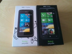 Windows Phone HTC TITAN