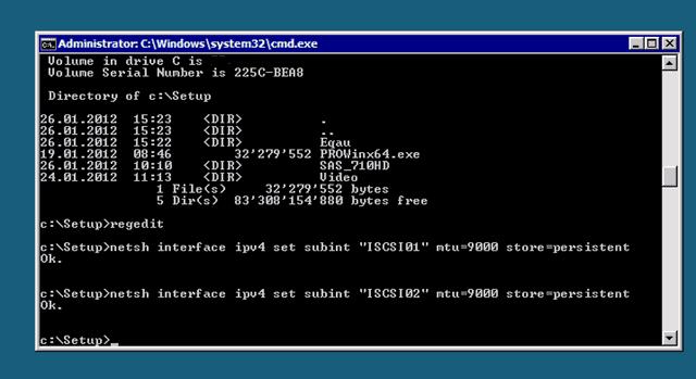Hyper-V Server: Enable Jumbo Frames on Intel NICs - Thomas Maurer
