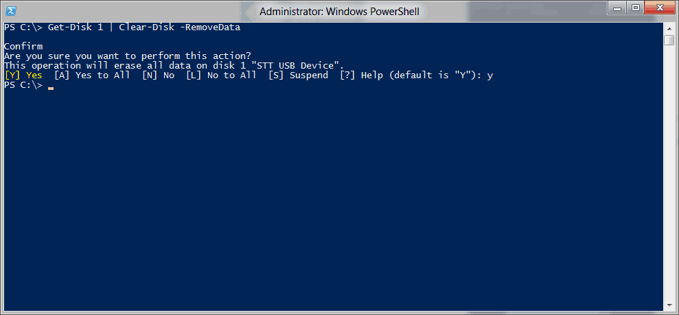 Replace Diskpart with Windows PowerShell - Basic Storage cmdlets