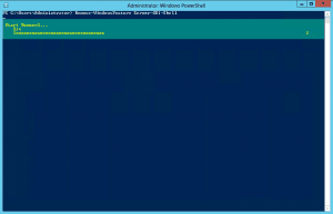 Remove GUI with Powershell
