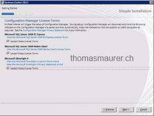 Coniguration Manager License Terms