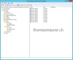 SC2012 Servers