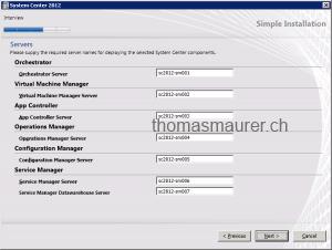 System Center Servers