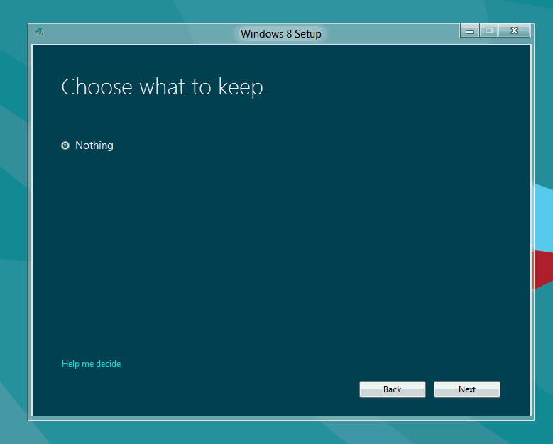 Windows 8 Upgrade