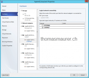 System Center 2012 SP1 CTP2 – Virtual Machine Manager Network