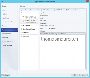 System Center 2012 SP1 CTP2 – Virtual Machine Manager Storage