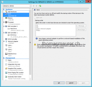 Windows Server 2012 Hyper-V Virtual Machine