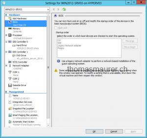 Windows Server 2012 Hyper-V Virtual Machine