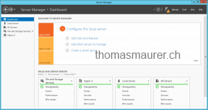 Windows Server 2012 Management