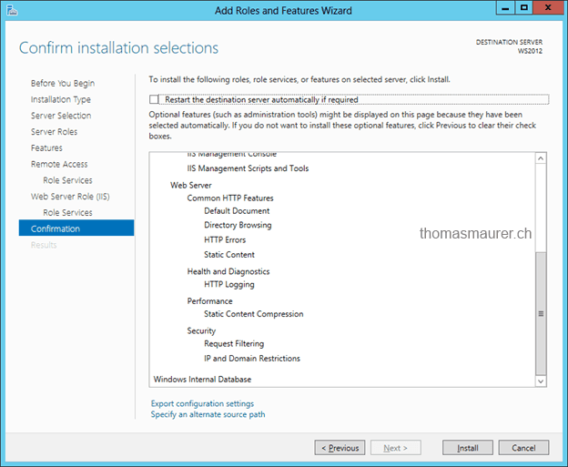 How to Install VPN on Windows Server 2012 - Thomas Maurer