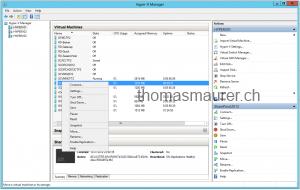 Enable Hyper-V Virtual Machine Replication