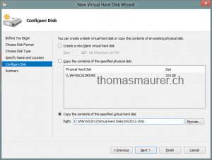 Copy the contents of the specified virtual hard disk