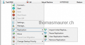 Enable VM Replication Target Import Initial Replica