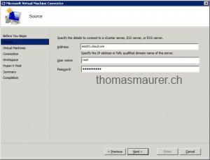 Microsoft Virtual Machine Converter Source