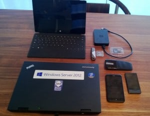 Bag for Microsoft MVP Summit