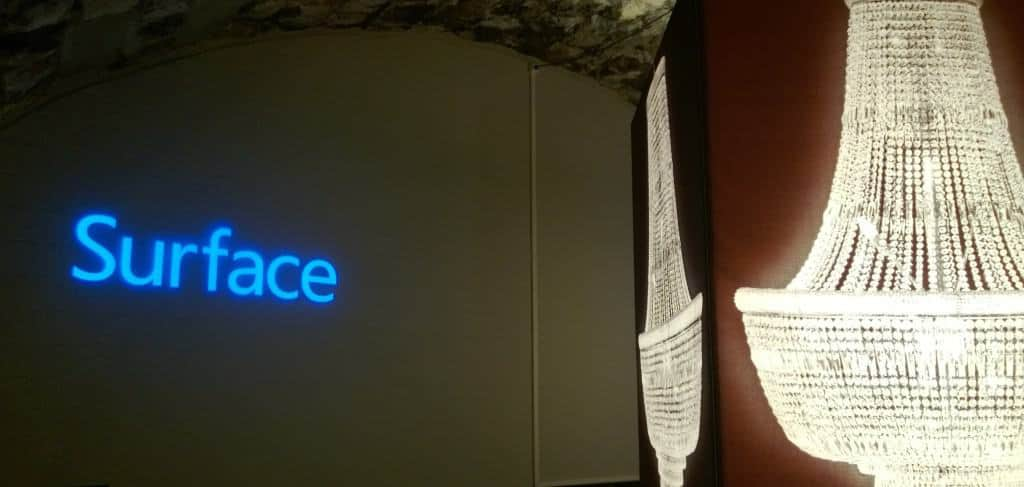 Swiss Microsoft Surface Event