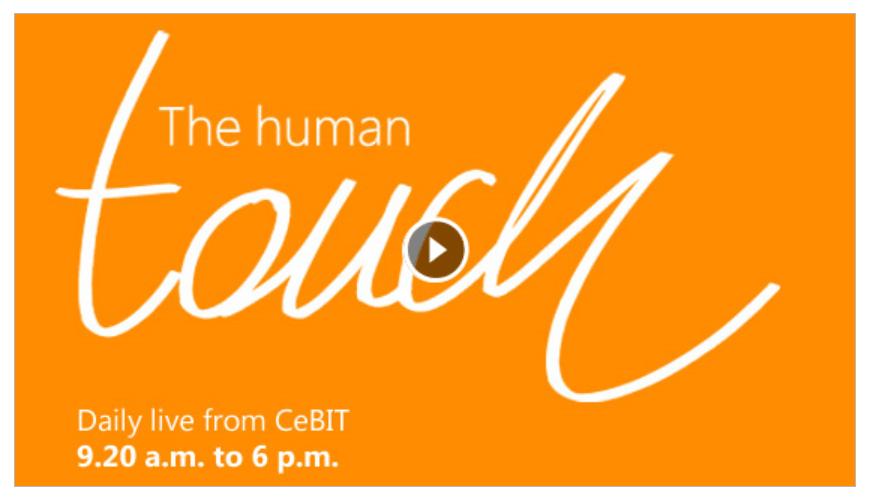 Microsoft @ CeBIT 2013