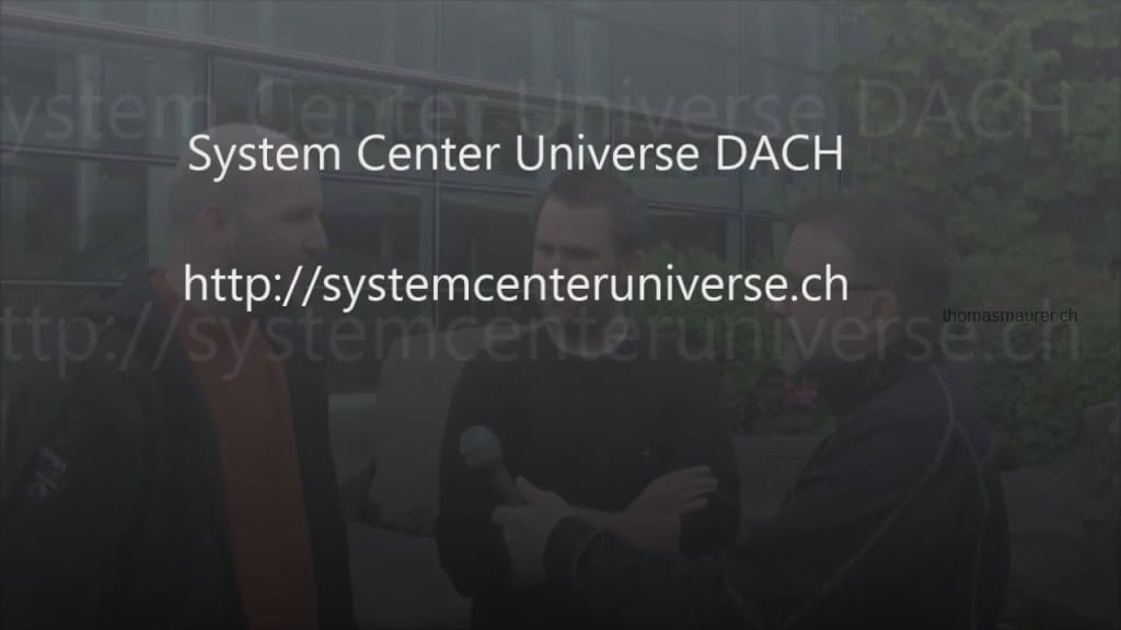 System Center Universe Europe