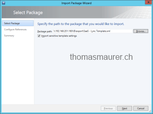 Import Templates in Virtual Machine Manager
