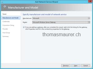 Microsoft Windows Server Gateway