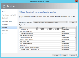 Validate Hyper-V Network Virtualization Gateway