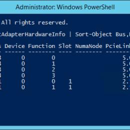 Sort Network Adapter via PowerShell
