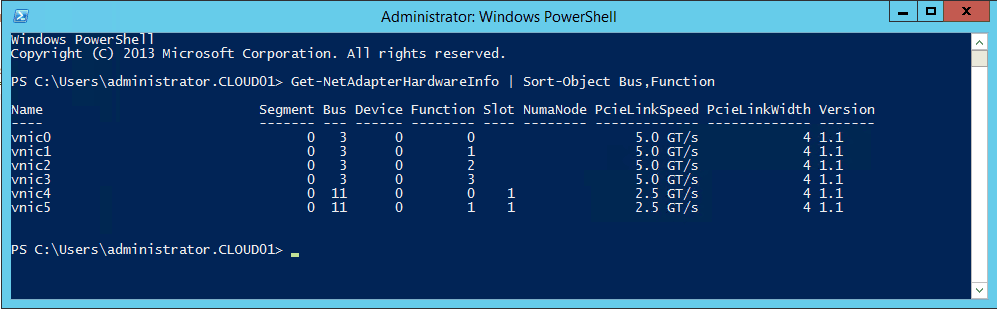 Sort Network Adapter via PowerShell