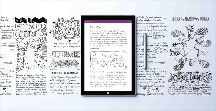 Surface Pro 3 OneNote